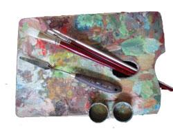 Maler palett